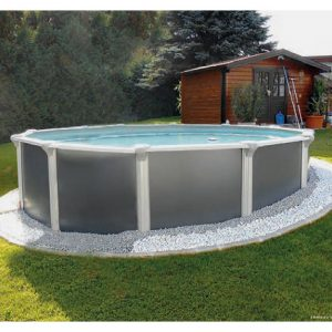 Summer Pool design Rund
