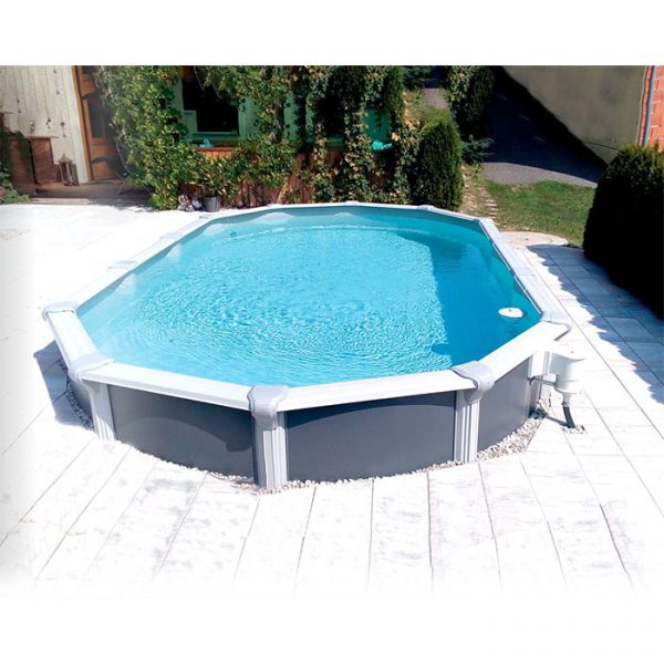 Summer Pool Design Set Oval