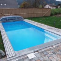 Beckenset Summer Pool Eco Plus mit Ecktreppe