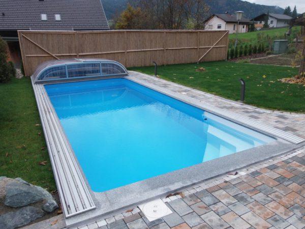Summer Pool Styrobor mit Ecktreppe