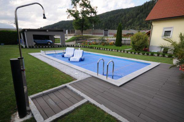 Summer Pool Styroborbecken mit Leiter