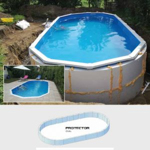 Summer Pool Protector oval